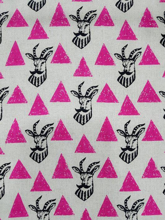 Tela de algodón y lino de ciervos de Echino|Tela de algodón y lino de ciervos de Echino|20170915_134440|20170915_134527|Tela japonesa gruesa de Echino