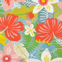 Tela Tropical, tela de flores tropicales|tela estampada tropical|tela con flores hibiscus|Tela de flores tropicales|Tela de flores tropicales|Tela de flores tropicales|