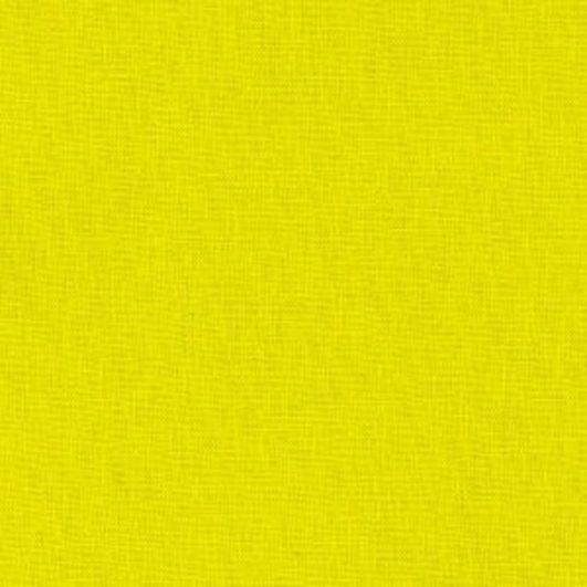 Loneta de lino y algodón lisa muy gruesa lisa de color mostaza