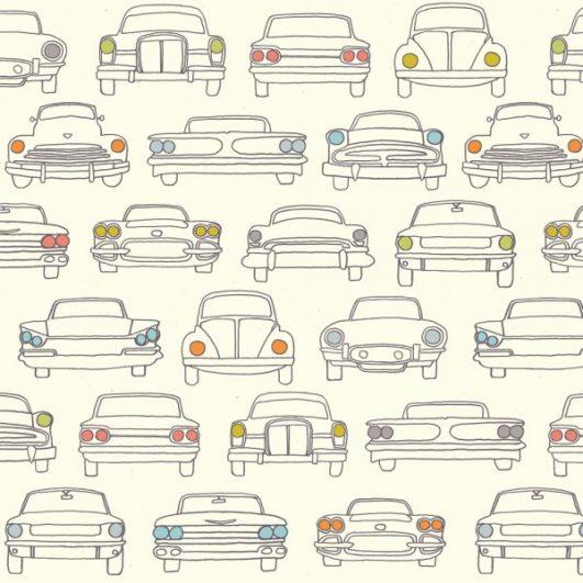Tela de coches vintage|||