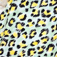 Tela de Piñas de piel de leopardo de Fabrics