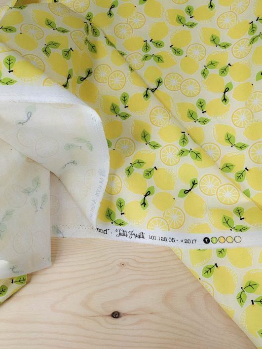 estampado de limones