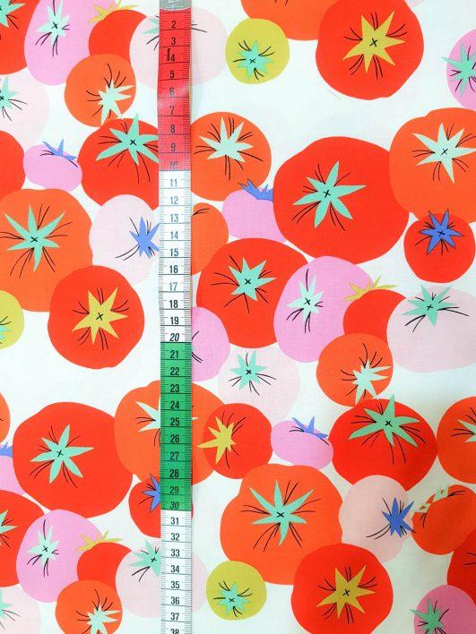 Tela Estampada de Tomates
