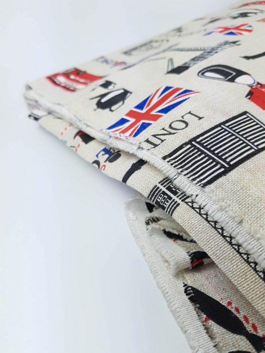 Loneta para tapizar, decoración y complementos de moda