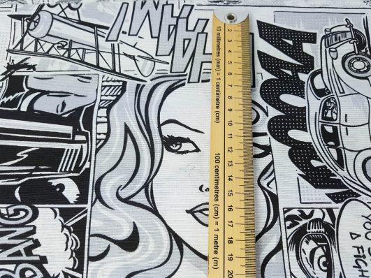 Tela de comic para tapizar