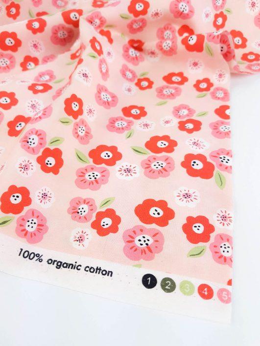 Imprimés de fleurs pour robes de fille et vêtements pour enfants