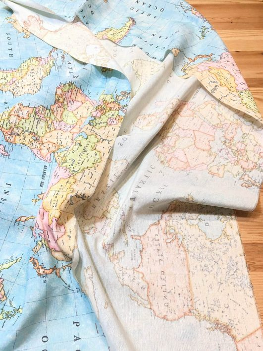 Loneta mapamundi