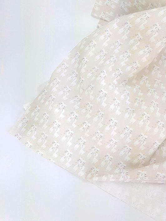 Estampado de Gaticornios en popelín de algodón