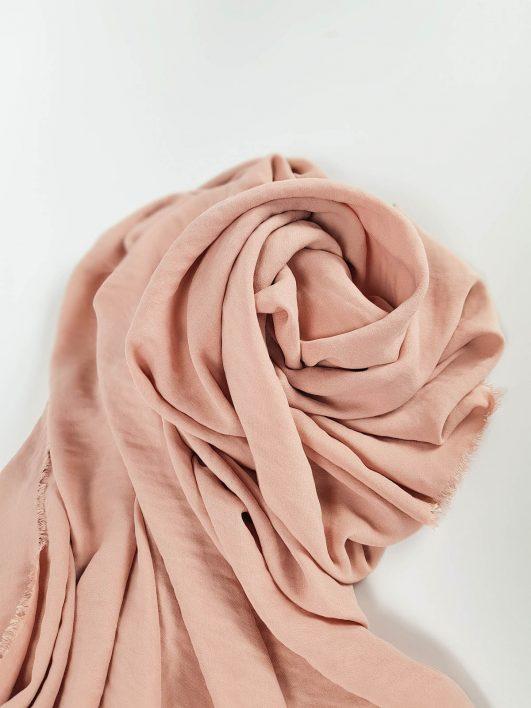 Viscosa color rosa nude
