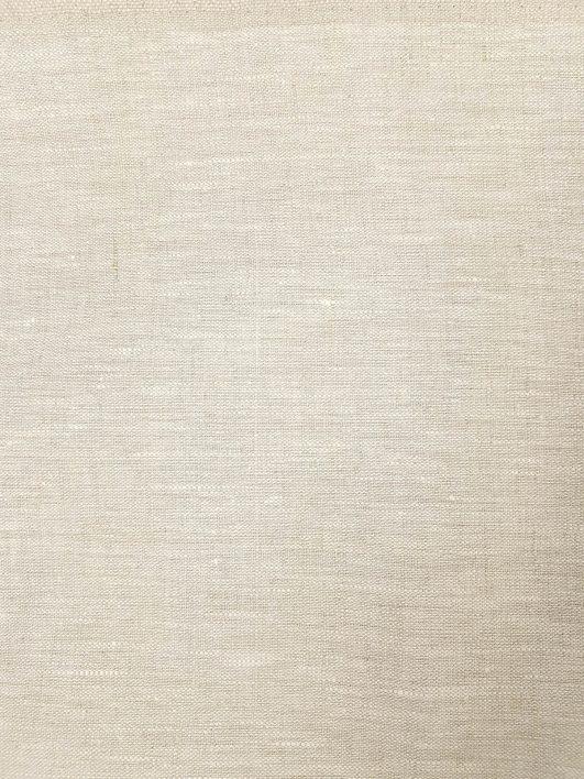 tela de lino 100% en tono crema
