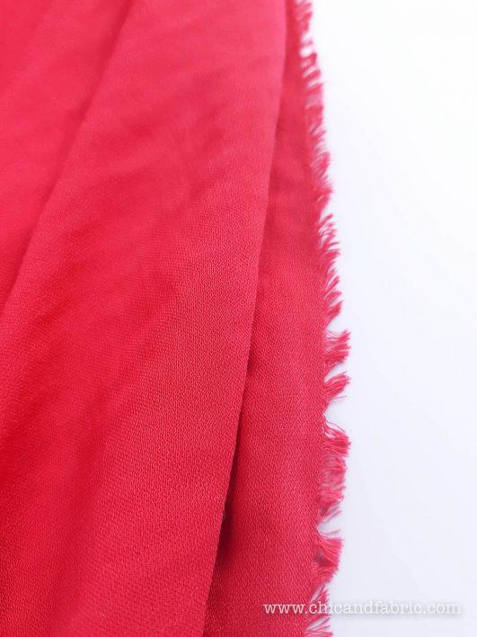 Viscosa lisa rojo