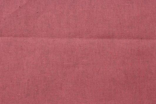 Loneta de lino y algodón color coral