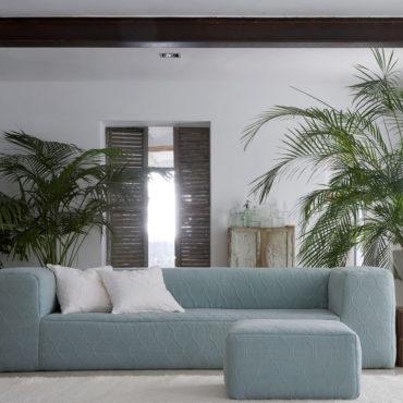 Tejido grueso de lino 100% para cortinas o tapizar sofás