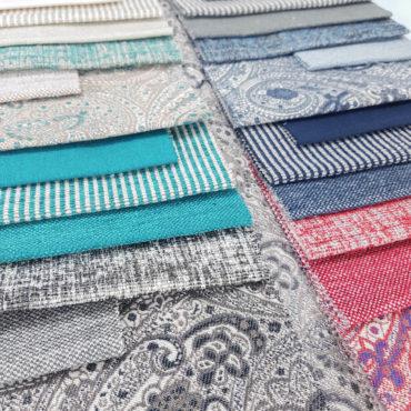 jaquard de rayas para tapizar y decorar