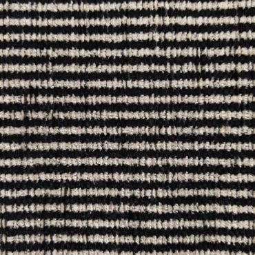 jaquard de rayas negras para tapizar y decorar