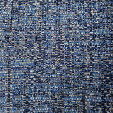 Jacquard para tapizar jaspeado en azul, marrón y gris oscuro