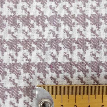 jacquard estampado de pata de gallo para tapicería. Tejido resistente y antimanchas