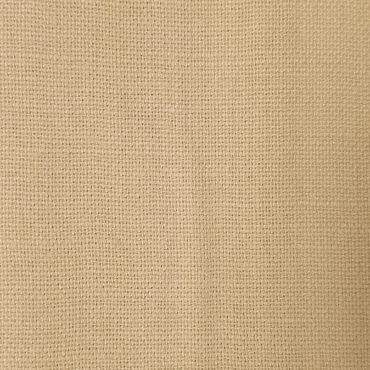 Lino 100% para cortinas y visillos en color ocre - miel