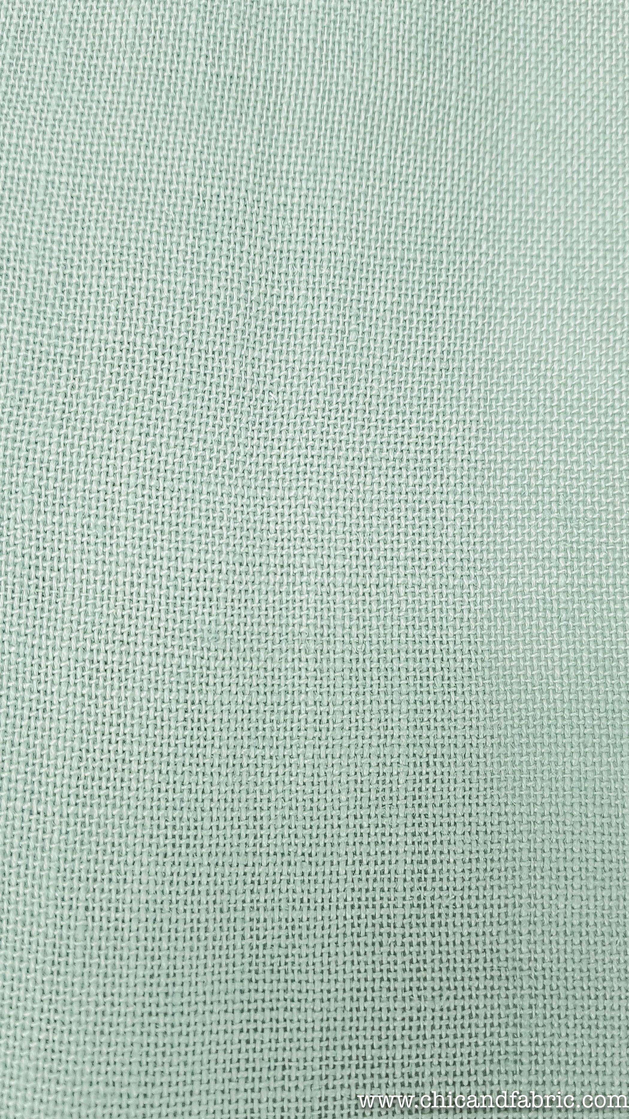 "45/"" de ancho 1 MTR de tela de gasa verde menta."