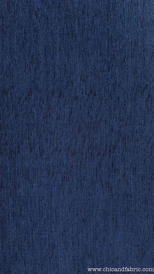 Loneta gruesa azul marino de ancho 1,40m