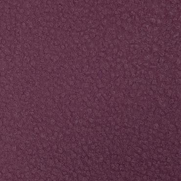 paño de rizo de lana color vino