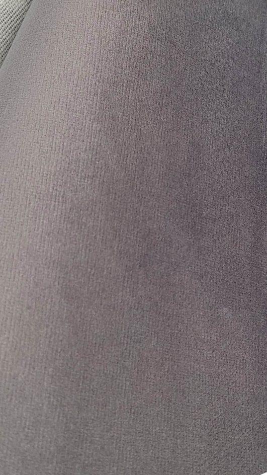 terciopelo gris para tapicería, decoración o confección de abrigos