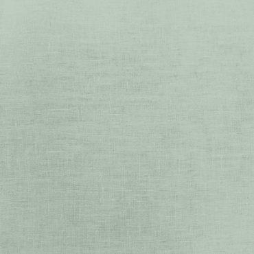 Visillo de lino 100% fino de 2,80m en verde menta translúcido