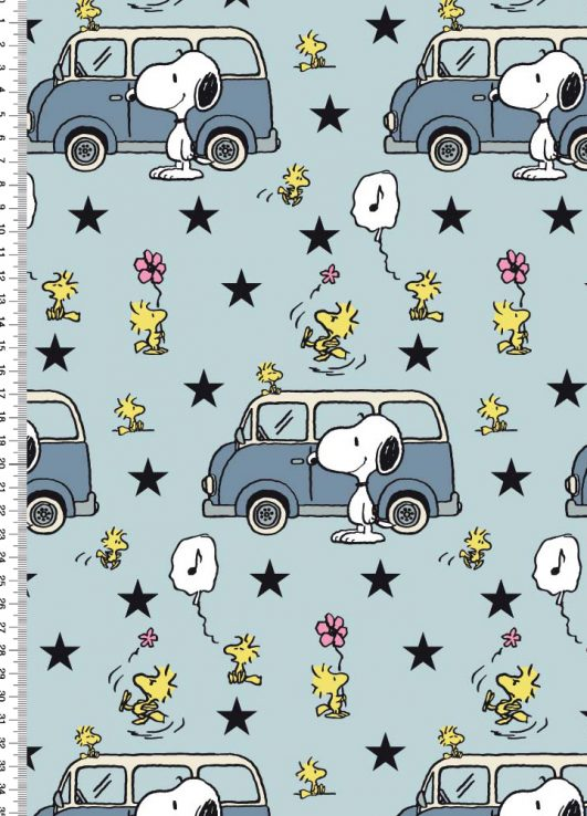 Imprimé Snoopy (Peanuts)